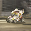 BRIAN BROWN ON THE GAS LAEDING THE MAIN
