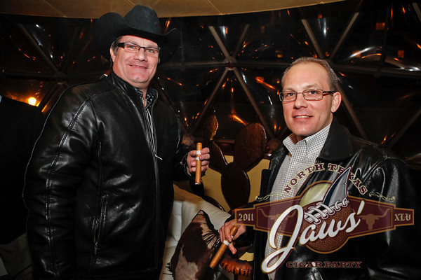 Jaws Youth Fund Cigar Party at Reata Restaurant, Fort Worth, TX. 2.3.11 Photos by Sharon and Gregg Ellman