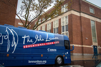 2016_10_21, Bus, Canon, Establishing Shot, Exterior, JHS157, Rego Park, StudentSession