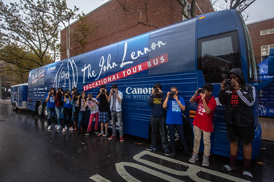 2016_10_21, Bus, Canon, Exterior, JHS157, Rego Park, StudentSession, Canon Experience