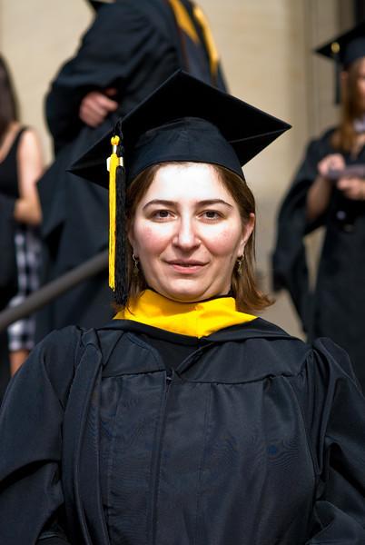 Eka graduated with a MS/MBA Dual degree