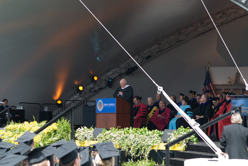 John Astin was the Guest Speaker at the Ceremony.   He is an awesome public speaker.