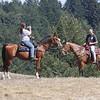 Photo op, Diane & Scott coming up Brook Loop Trail