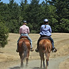 Becky & RoseMarie going out for an afternoon ride