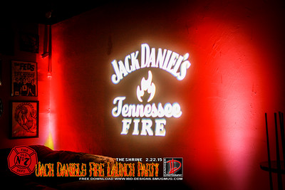 Jack Daniel's Fire Launch Party 2-22-15