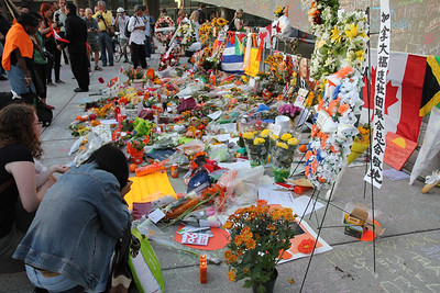 Jack Layton Memorial At City Hall - August 2011