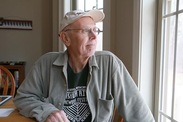 Jack McCarthy helps promote bone marrow drive