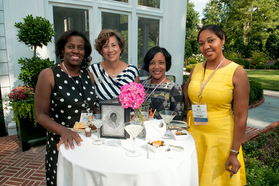 Chapter President's Welcome Reception @ Duke Mansion 7-29-14