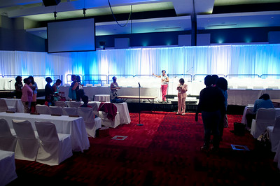 Opening Ceremony Rehearsal @ Charlotte Convention Center 7-30-14