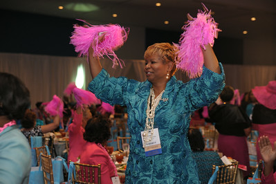Program Luncheon @ Charlotte Convention Crown Ballroom 7-31-14  Ed Chavis