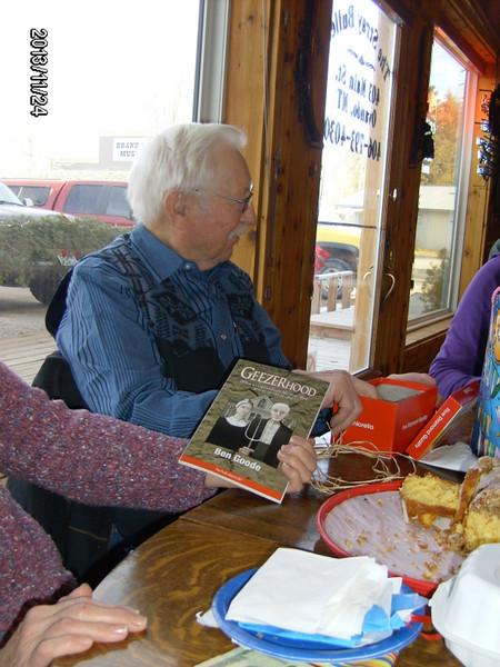 """Book """"Geezerhood"""" from Harry & Cindy"""