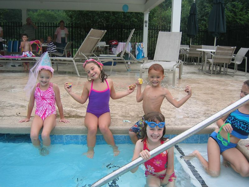 Caroline and Jackson with their friends Jenny and Katherine.