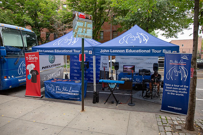 2018, Audio-Technica, Jackson Heights, Neutrik, New York, OWC, Steven Meloney, Tents, Yamaha