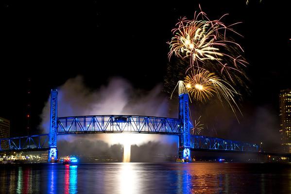 JAX 2012 Christmas Boat Parade & Fireworks