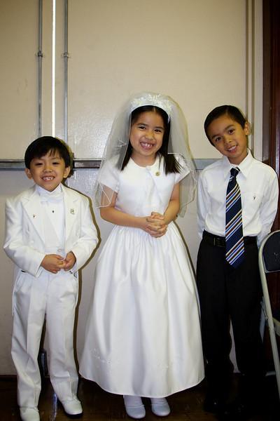 Jacob with his buddies, Jacob S. and Charleen