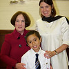 Jacob with his teacher, Mrs. Kirchen and Vice Principal, Mrs. Anderson