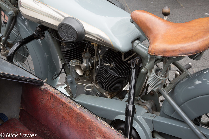 Brough Superior with Swallow Sidecar