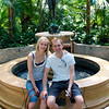 Jake and Vicky at the Conservatory