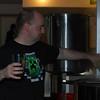 Stu adding hops