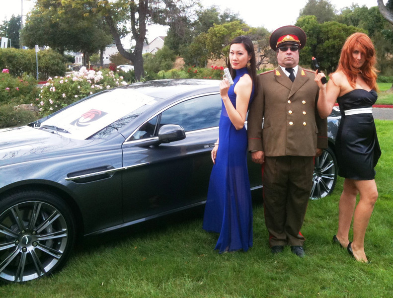 RUSSIAN SPY & BOND GIRLS