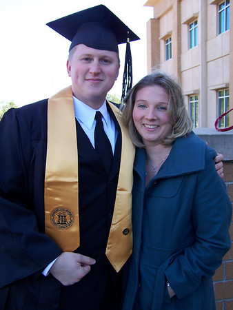 James Graduates from Kennesaw State University-Class of Dec. '08