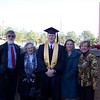 Family shot with graduate, James