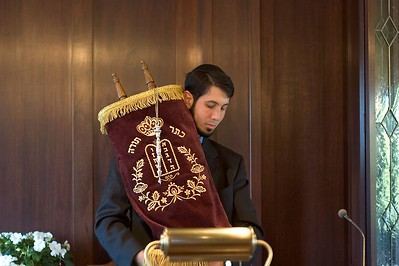Bruce with Torah   (May 28, 2005, 10:16am)