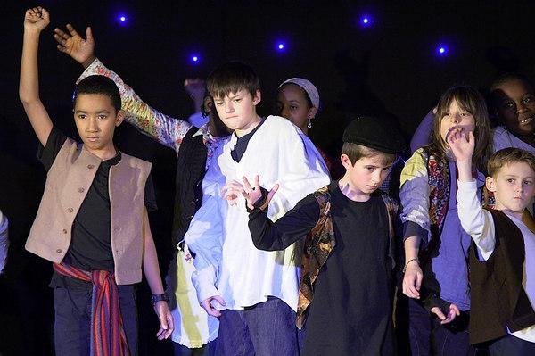 Jamie's Christmas play 2006
