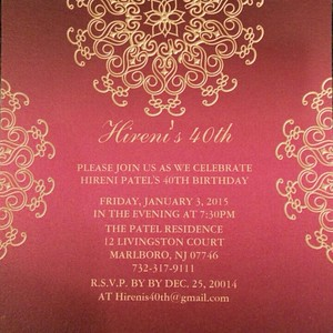 Jan 3rd/Hireni's 40th