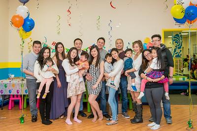 Jane's baby birthday party