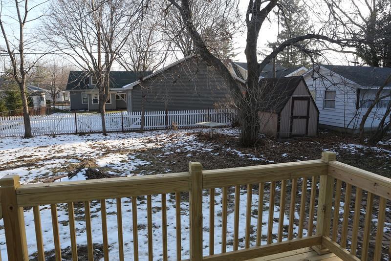 Backyard view # 1.