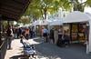 Las Olas II Art Festival-a busy venue on a picture perfect day.
