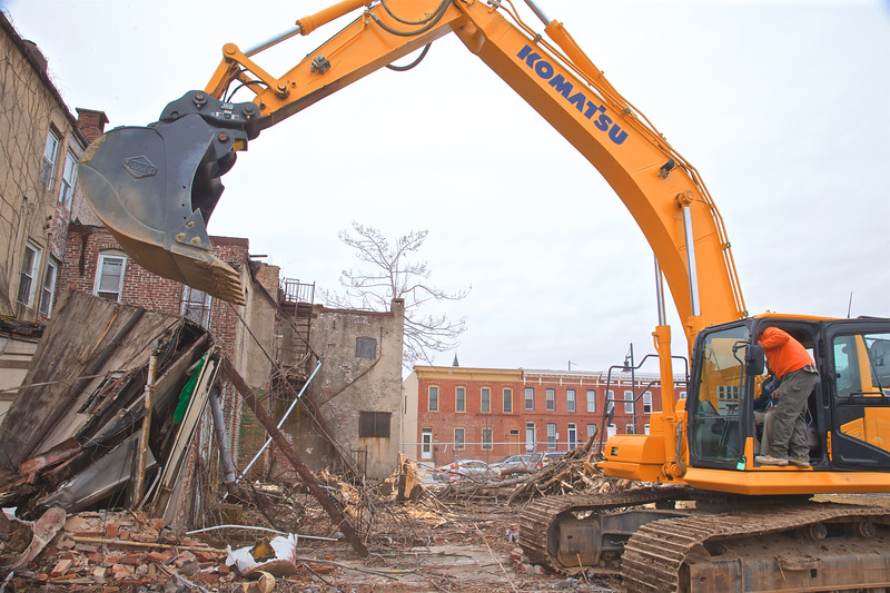 January 13, 2020 - EBDI's Northwest Press Conference and Demolition