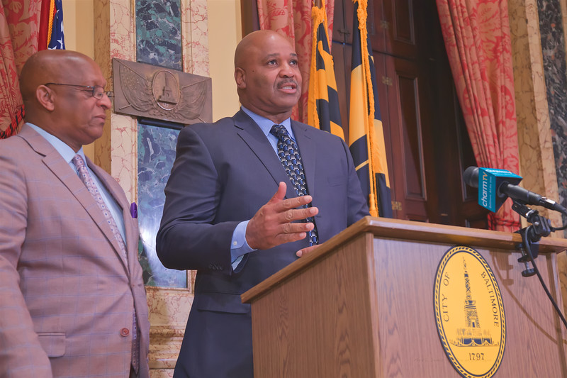 January 17, 2020 - Proclamation of Elijah Cummings Day in Baltimore City & Unveiling of Courthouse Rendering