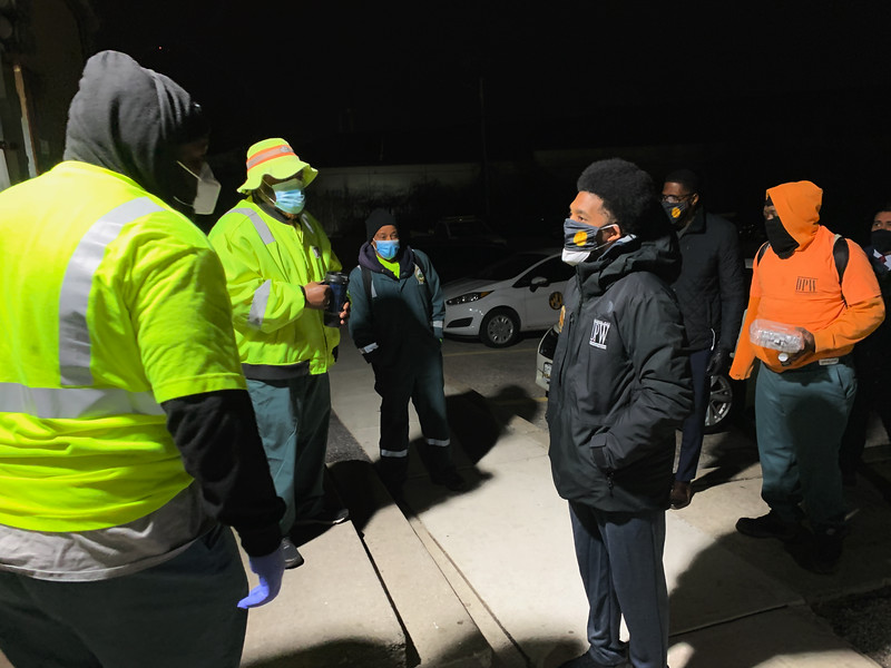 January 19, 2021 - Bowleys Lane DPW Site Visit regarding the resumption of recycling pickup