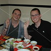Kyoto, Matthew Kohlmorgen and Jeff Cox test the influence of Chinese cooking on Japanese cuisine at a gyoza restaurant.