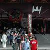 Tokyo, Asakusa, Sanja Matsuri,  in front of Sensoji Temple: