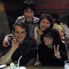Tokyo, Watami Izakaya Restaurant, Brad Keith, Emilie Helman, Satoshi Sumikawa and Sachiyo Yoshida.