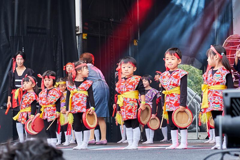 Eisa Dance by the London Bunka Yochien