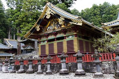 Kamijinko (Upper Sacred Storehouse), at the Nikko Tōshō-gū shrine