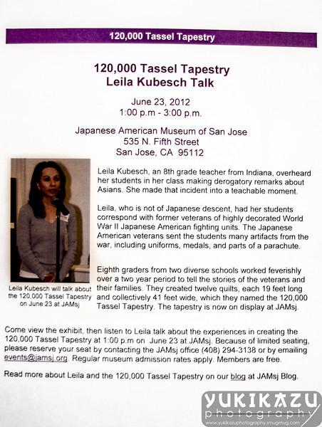 120,000 Tassel Tapestry