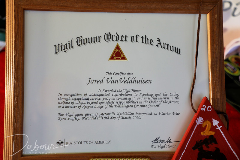 Eagle Scout Court of Honor for Jared