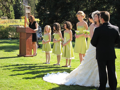 Jared & Holly's wedding