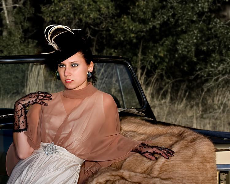 Fashion Model, Erika Meyer.