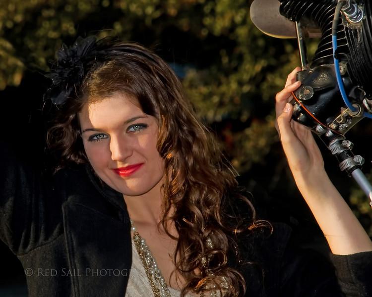 Fashion Model, Danyelle Ward.