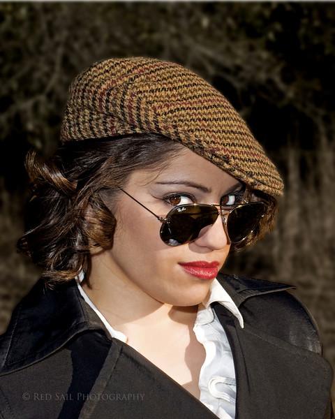 Fashion Model, Alexia Vizcarra-Coronel.
