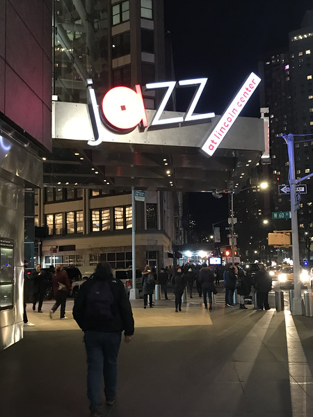 Cliff approaches Jazz at Lincoln Center