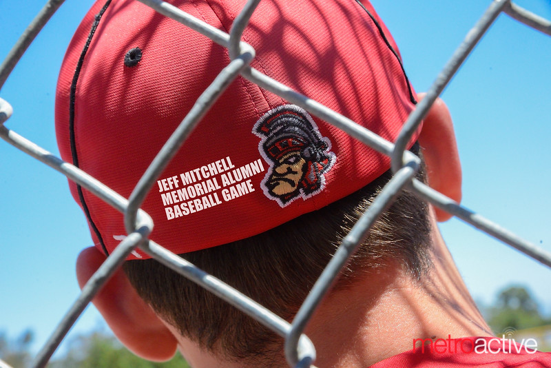 Jeff Mitchell ~ Memorial Alumni Baseball - Westmont High School, Campbell California 30 April 2016