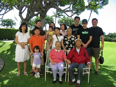 2005 (2/11) Grandpa's 98 Birthday Party (Hawaii)
