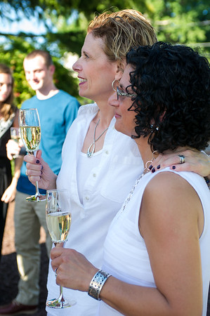 Jenny and Lisa's wedding
